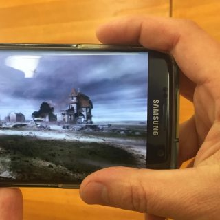 Démonstration de réalité virtuelle à l'occasion des Laval Virtual Days à la Maison de la Radio