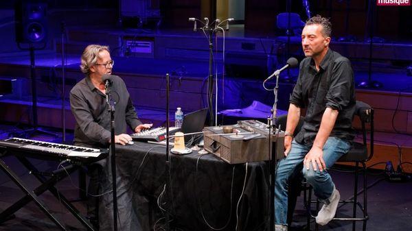Xavier Garcia et Lionel Marchetti au studio 106 par Dimitri Scapolan