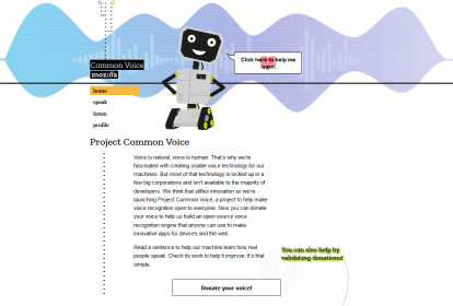 Common Voice par Mozilla