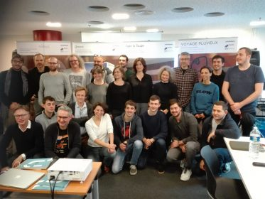 Etudiants, équipe pédagogique Readi, organisateurs et membres du jury Radio France