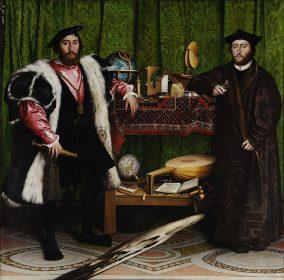Les Ambassadeurs de Hans Holbein le Jeune, 1533.