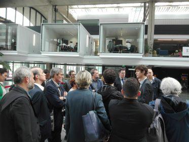 Le comité stratégique découvre French Tech Central