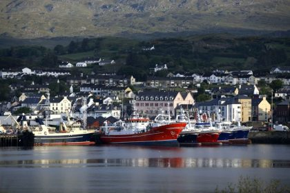 Le port de Killybegs en Irlande• Crédits : Ullstein Bild - Getty